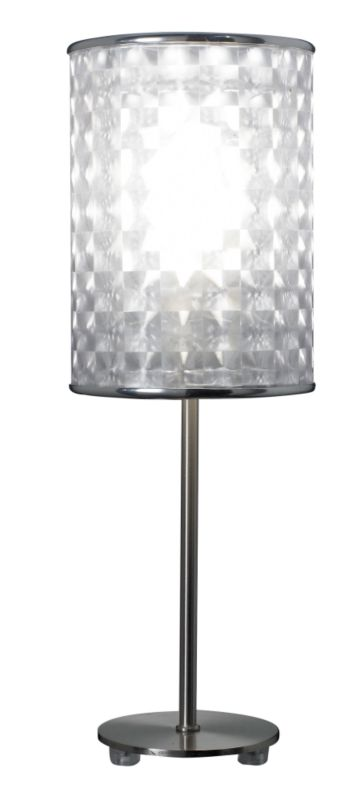 Lights by BandQ Leaf Table Lamp 3D Shade White