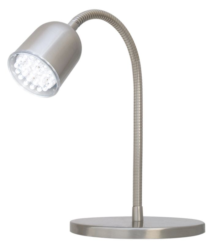 Lights by BandQ Klara LEDTable Lamp Brushed