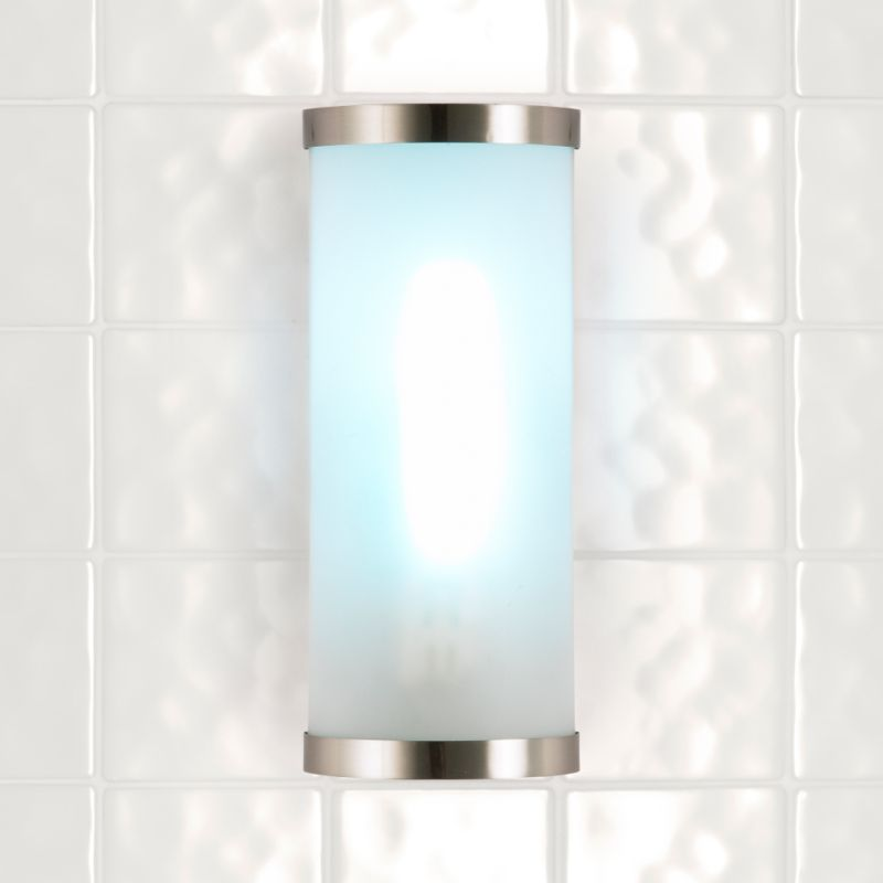 Lights by BandQ Bain Bathroom Light Brushed
