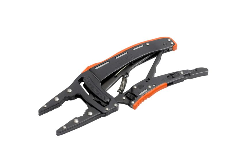 Magnusson Long Nose Viper Grip Orange/Black