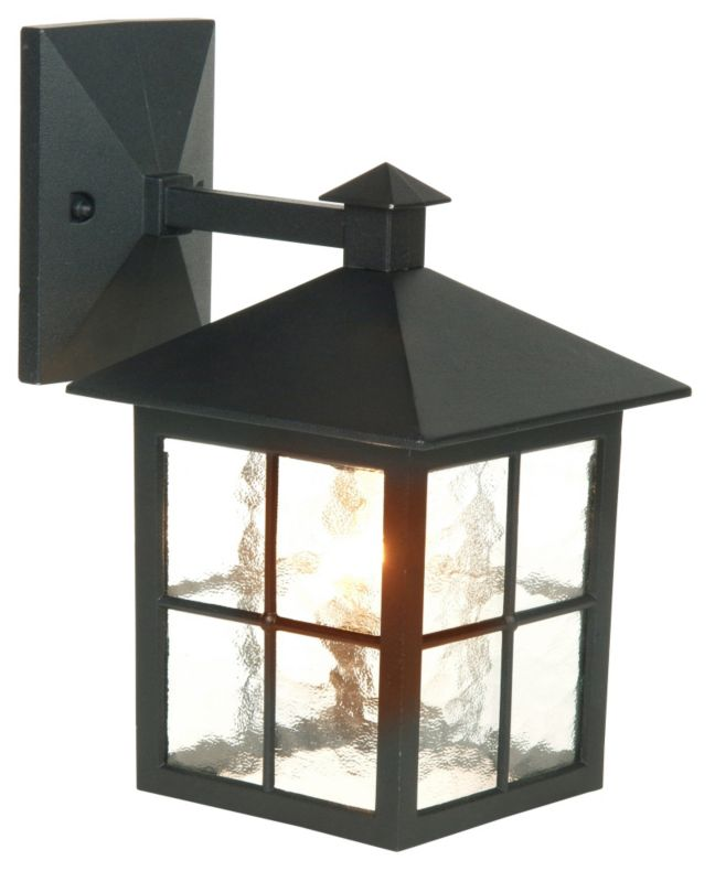 B And M Outdoor Wall Lights : Lights By B&Q Maine Outdoor Wall Light in Black Wall Light - review, compare prices, buy online