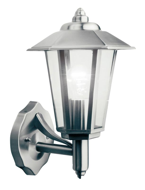 B And Q Lighting Outdoor - Lights By B Q Newport Outdoor Wall Light In Stainless Steel Wall ...
