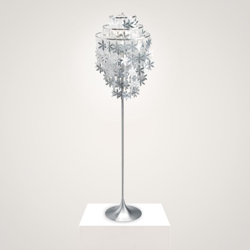 Kyra Floor Lamp Cascading Flowers