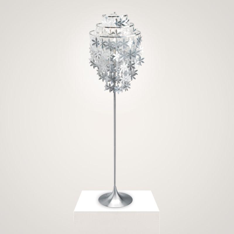 Kyra Cascading Flowers Floor Lamp