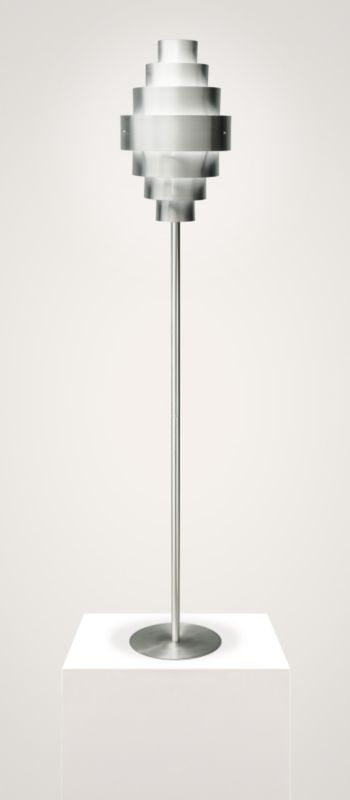 Lights By BandQ Jackie Aluminium Floor Lamp