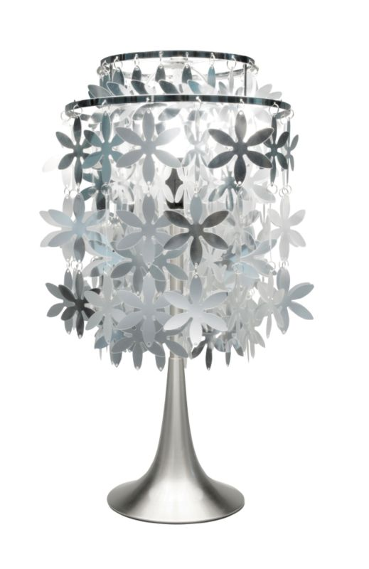 Lights by BandQ Kyra Table Lamp With Silver