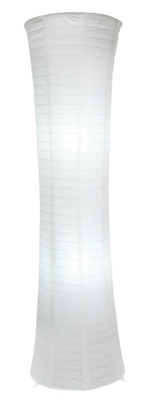 Lights by BandQ Louise Paper Shade Floor Lamp