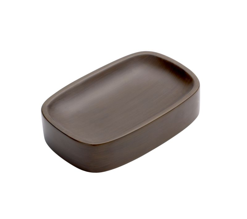 Metro Soap Dish Dark Brown Wood Review Compare Prices