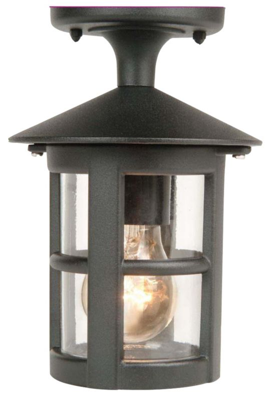 B&Q Whistler Outdoor Wall Light in Black Wall Light - review, compare prices, buy online