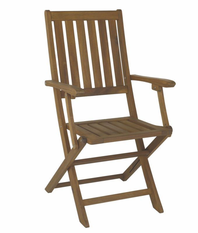 Chichester Folding Chair With Arms Pack of 2