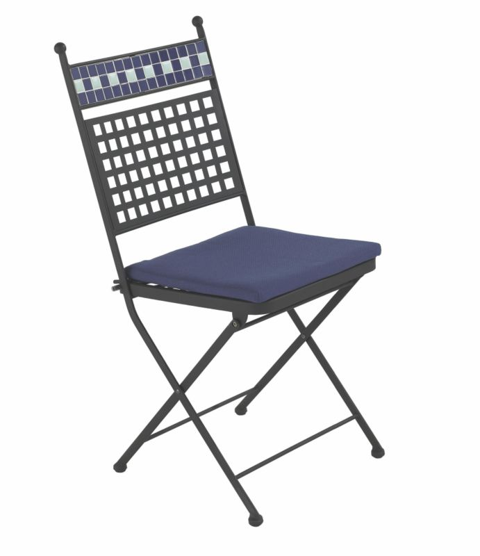 Madrid Folding Chair With Cushions Pack of 2