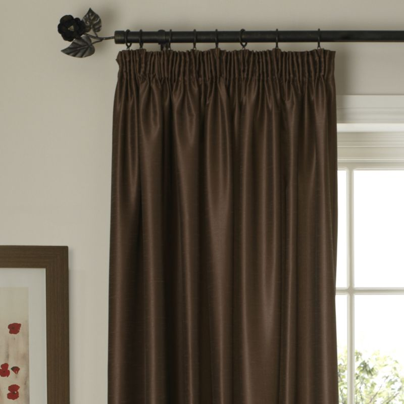 Colours by BandQ Shoana Pleated Curtains