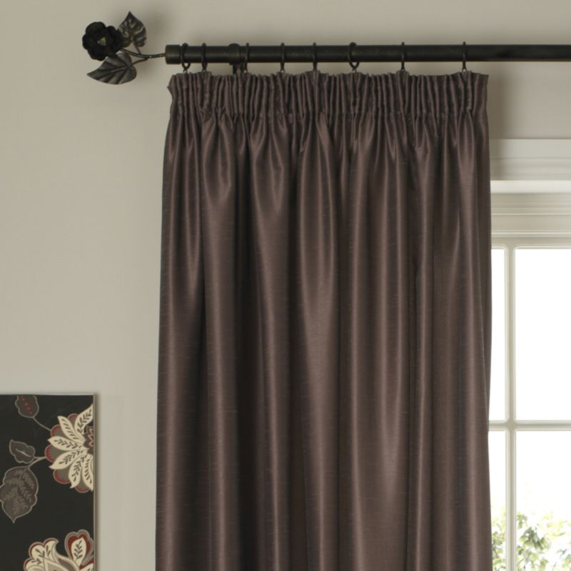 Colours by BandQ Shoana Pleated Curtains Dove