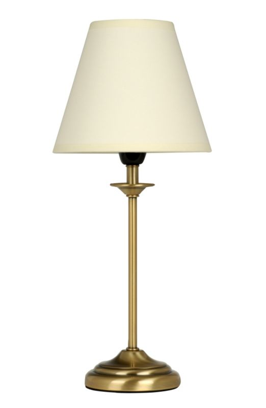 Lights by BandQ Antique Brass Effect Table Lamp