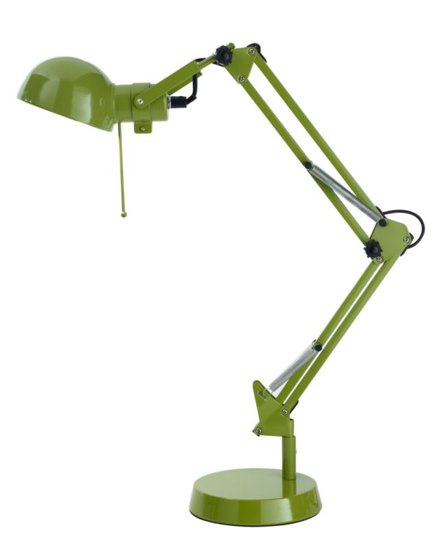 Lights by BandQ Tutti Desk Lamp Green 40W