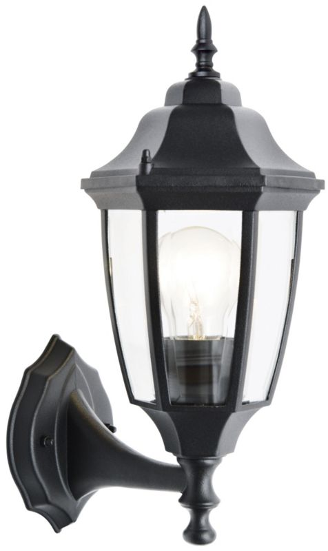 Black Wall Lantern - CLICK FOR MORE INFORMATION