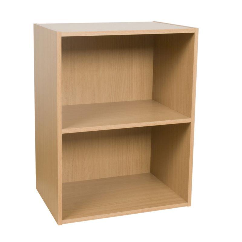 2 Tier Bookcase Beech Effect KBQ-901-2B
