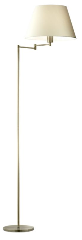 Lights by BandQ Leamington Floor Lamp Antique
