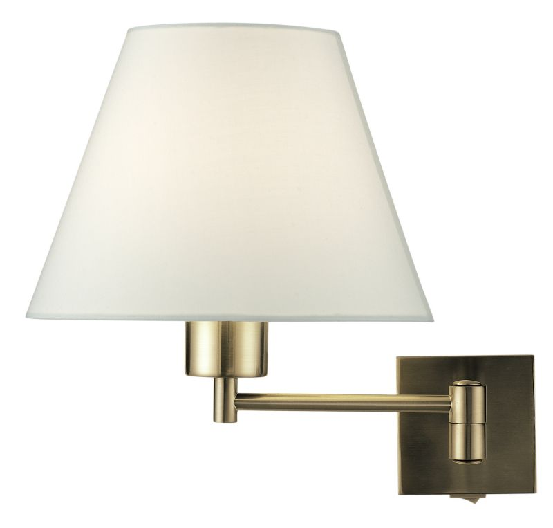 Wall Lamps B And Q : B&Q - Lights by B&Q Leamington Wall Lamp Antique Brass Effect customer reviews - product reviews ...