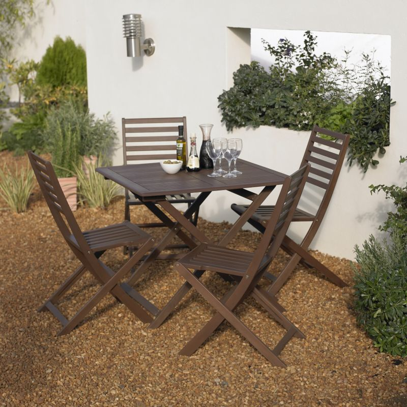 BandQ Romsey 5 Piece Dining Set
