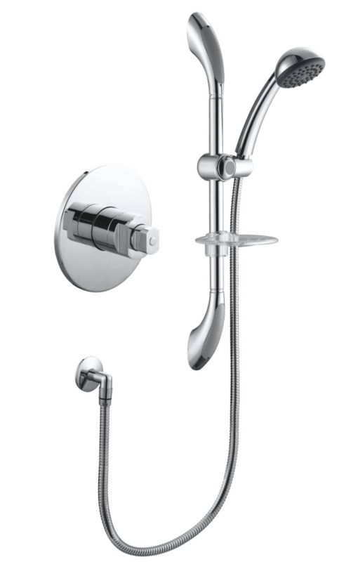 Chrome Thermostatic Mixer Shower