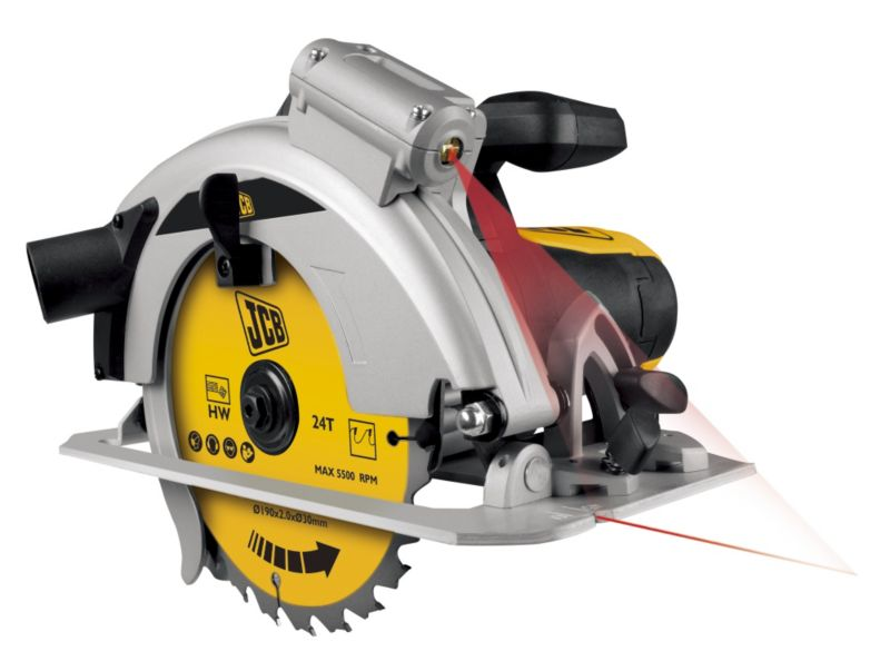 JCB 1400W Electric Circular Saw 190mm