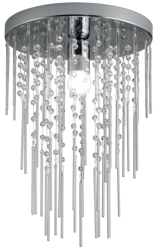 Lights by BandQ Glitz Flush Ceiling Light With