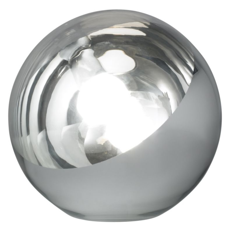 Lights by BandQ Harika Globe Table Lamp Chrome