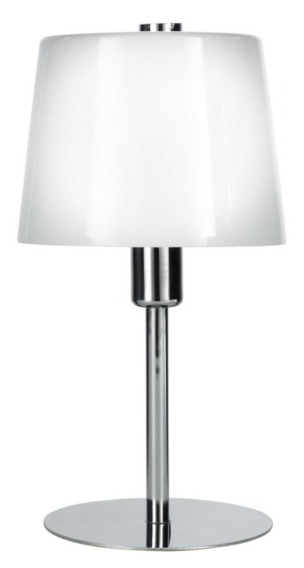 Lights by BandQ Daria Small Table Lamp With Opal