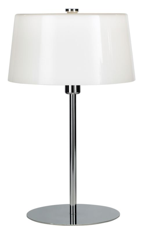 Lights by BandQ Daria Tall Table Lamp With Opal