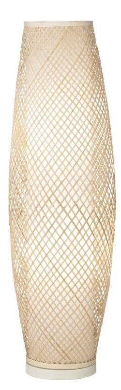 Lights by BandQ Joyce Bamboo Floor Lamp Natural