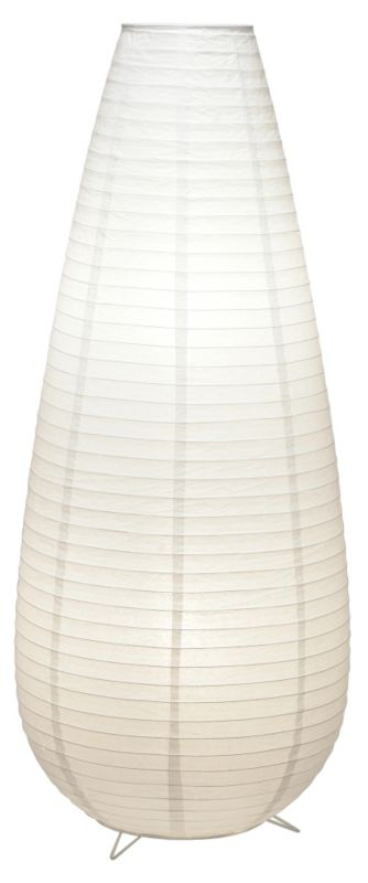 Lights by BandQ Hayley Vase Paper Floor Lamp