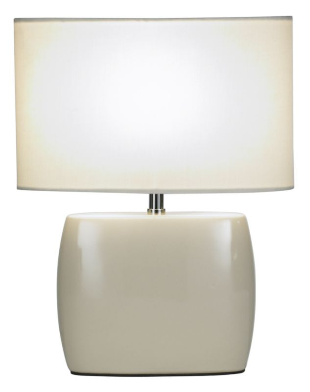 Lights by BandQ Cynthia Ceramic Table Lamp Cream
