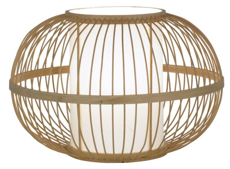 Lights by BandQ Mandy Bamboo Table Lamp Natural