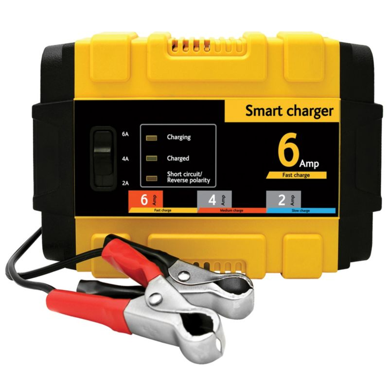 6Amp Smart Battery Charger