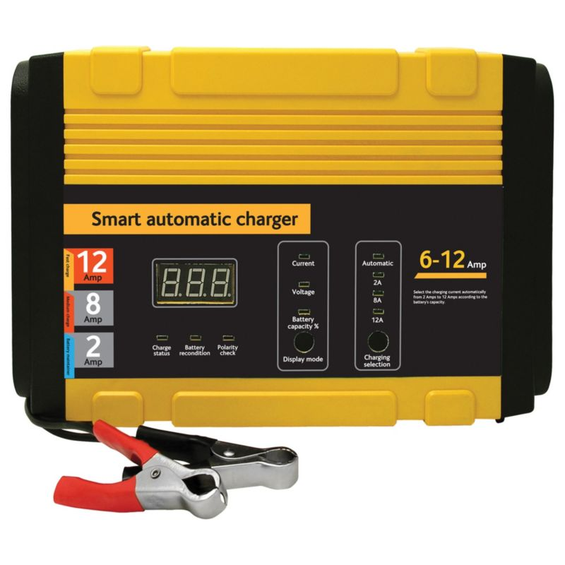 Torq 12Amp Smart Battery Charger
