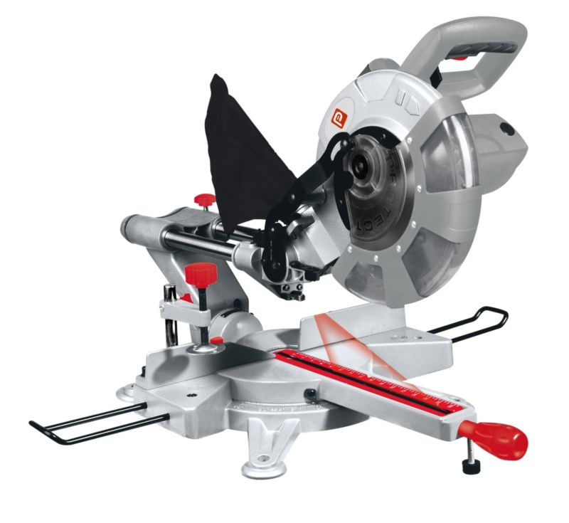 Performance Power 210MM Single Bevel Sliding Mitre Saw
