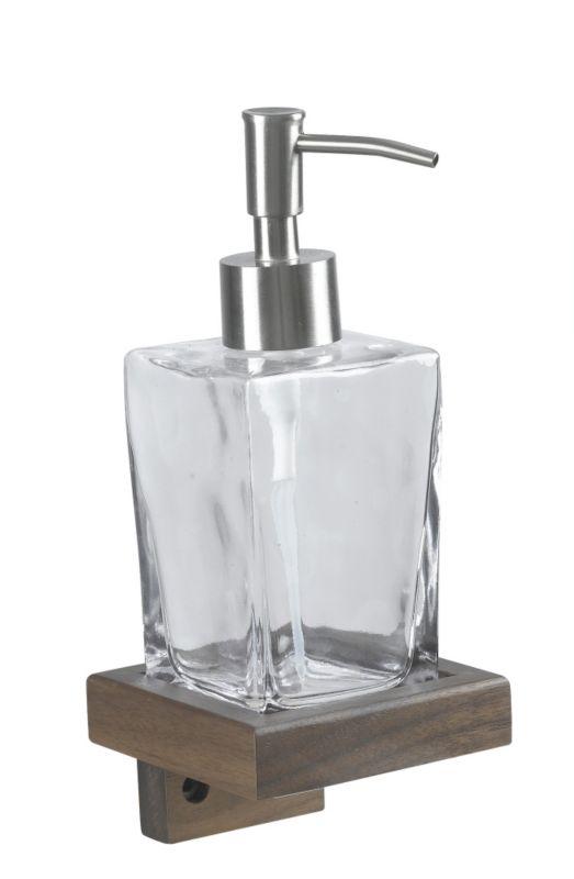 BandQ Solid Walnut Wall Mounted Soap Dish