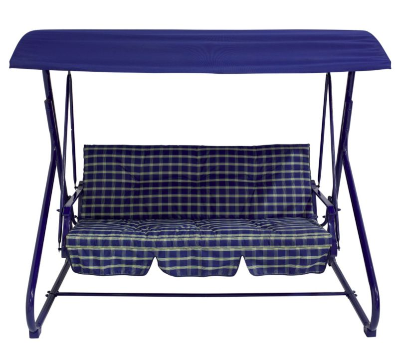 Aruba 3 Seat Swing Bench With Cushion by BLOOMA
