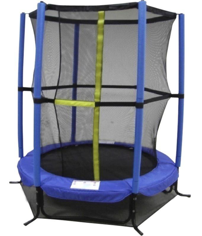 Junior Trampoline With Enclosure