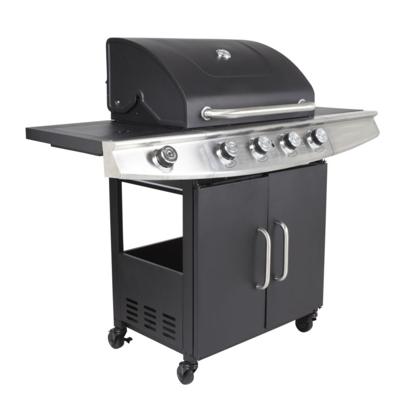 Blooma Kansas 4-Burner Gas Barbecue