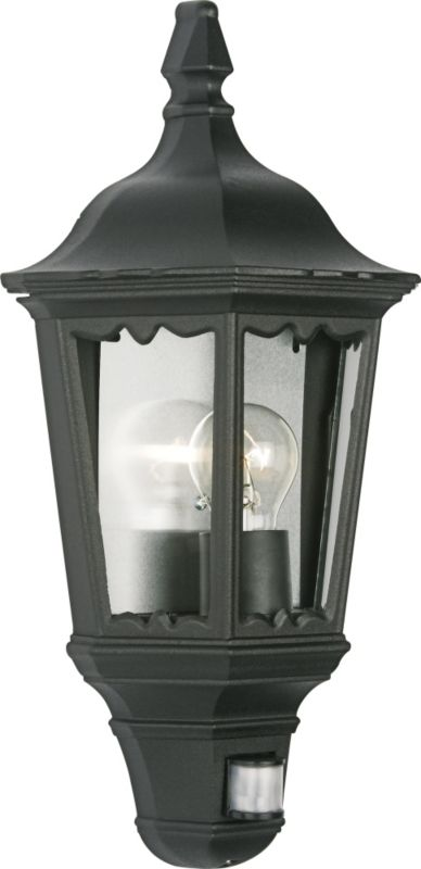 Lanark Outdoor Wall Light With Pir In Black : Buy cheap Pir movement sensor - compare Lighting prices for best UK deals