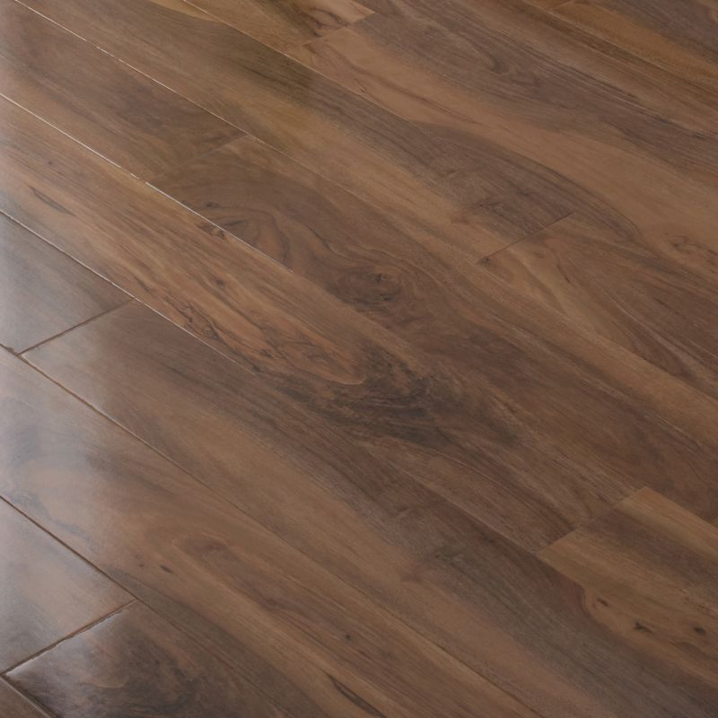 Colours Dolce Caramel High Gloss Walnut Effect Laminate Flooring
