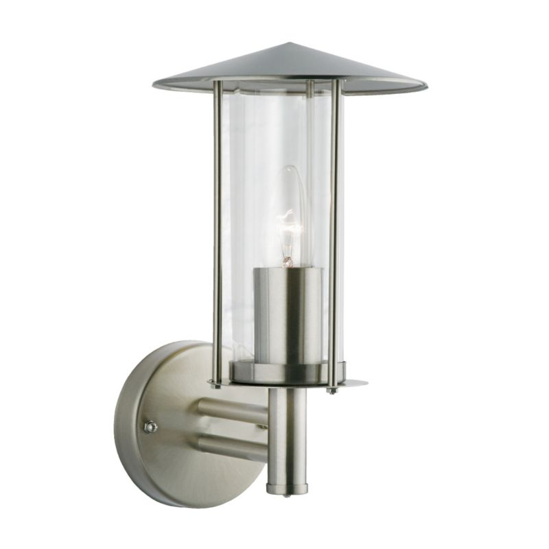 Wall Mounted Solar Powered Lights : stainless wall lights