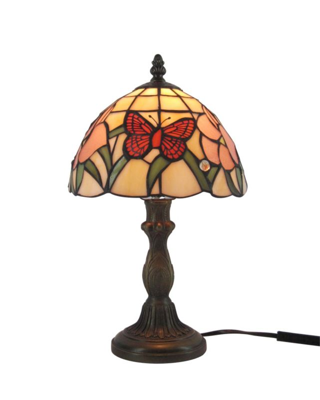 Colours by BandQ Ailsa Tiffany Style Table Lamp