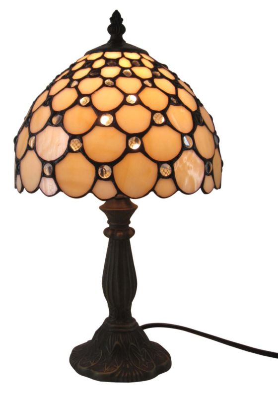 Colours by BandQ Layla Tiffany Style Table Lamp
