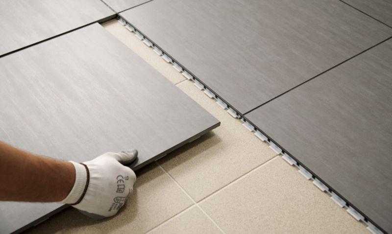 linoleum con mattonelle x cucina : Glazed Porcelain Floor Clip Tile Black customer reviews ...