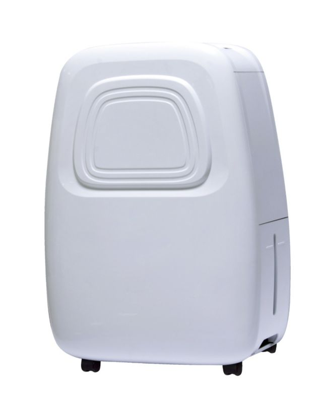 Small-capacity dehumidifiers remove 20 to 30 pints of moisture per day, so they're best for small spaces that are damp but not wet. Medium-capacity dehumidifiers remove 40 to 50 pints of moisture per day.