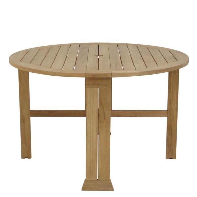 Gateleg tables - Round gateleg dining table ...