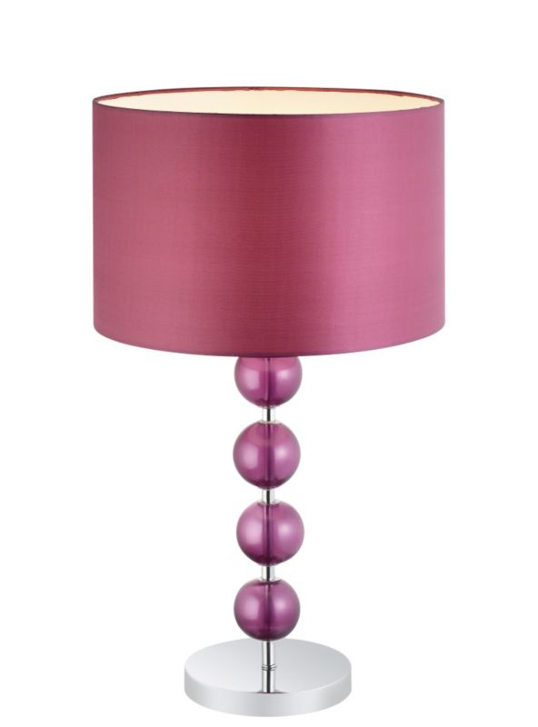 Colours by BandQ Silhouette Dahlia Gina Table Lamp